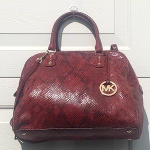 Michael Kors Snake Embossed Large Bag